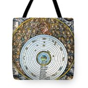 Ptolemaic Universe, 1493 Tote Bag