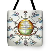 Ptolemaic Universe, 1525 Tote Bag