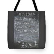 Pub Special Tote Bag