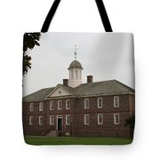 Public Hospital Colonial Williamsburg Tote Bag