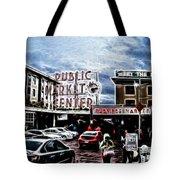 Public Market Tote Bag