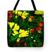 Puck's Garden Tote Bag