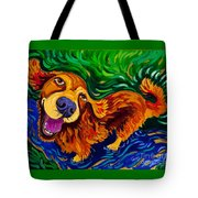 Puddle Of Love Tote Bag