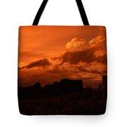 Pueblo Bonito In Orange Tote Bag