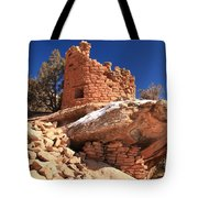 Pueblo Cliff Tote Bag