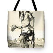Pueblo Zuni Buffalo Dance, 1850s Tote Bag