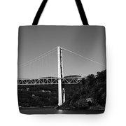 Puente II Bw Tote Bag