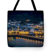 Puentedeume View From Cabanas Galicia Spain Tote Bag