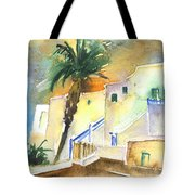 Puerto Carmen Sunset In Lanzarote 03 Tote Bag