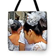 Puerto Rican Day Parade Lineup Tote Bag