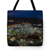 Puerto Rico By Night  Tote Bag