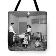 Puerto Rico Family Dinner Tote Bag