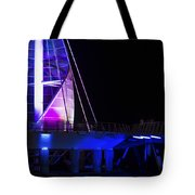 Puerto Vallarta Pier Tote Bag by Aged Pixel