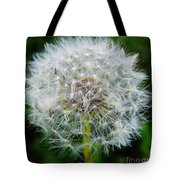 Puff The Dandelion Tote Bag