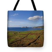 Puffin Island From The Skelligs Ring Tote Bag