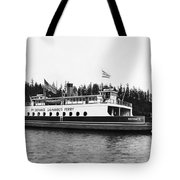 Puget Sound Ferry Boat Tote Bag