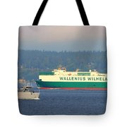 Puget Sound Shipping Waterway Tote Bag