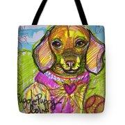 Puggle Puppy Love Tote Bag