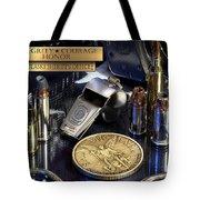 Pulaski Sheriff St Michael Tote Bag