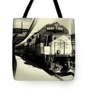 Pulling Into New London Tote Bag