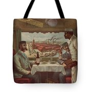 Pullman Compartment Cars Ad Circa 1894 Tote Bag