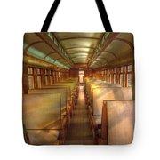 Pullman Porter Train Car Tote Bag