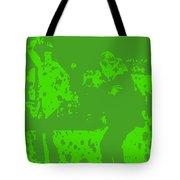 Pulp Fiction Dance Green Tote Bag