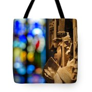Pulpit Trinity Cathedral Pittsburgh Tote Bag