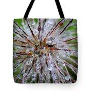 Pulsatilla Vulgaris Flower Design Tote Bag