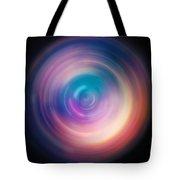 Pulse Spin Art Tote Bag