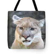 Puma Head Shot Tote Bag by John Telfer