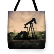 Pumpin Oil Tote Bag