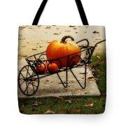 Pumpkin Barrow Tote Bag