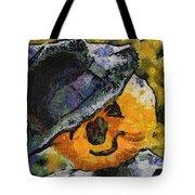 Pumpkin Face Photo Art 05 Tote Bag