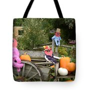 Pumpkin Heart Tote Bag