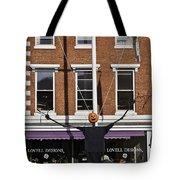 Pumpkin Man Tote Bag