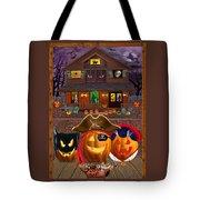 Pumpkin Masquerade Tote Bag