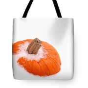 Pumpkin On Ice Tote Bag