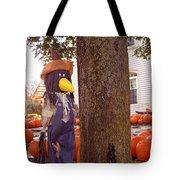 Pumpkin Patch Crow Tote Bag