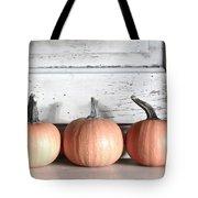 Pumpkin Trio Tote Bag
