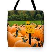Pumpkins II Tote Bag
