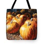Pumpkins In The Barn Tote Bag