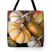 Pumpkins On Pumpkin Patch Tote Bag