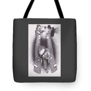 Punch And Judy Tote Bag