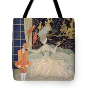Punishing The Page  Tote Bag by Georges Barbier