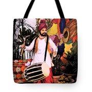 Punjabi Dhol Tote Bag
