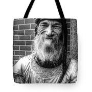 Punk Rock Smile  Tote Bag