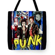 Punk Style Tote Bag