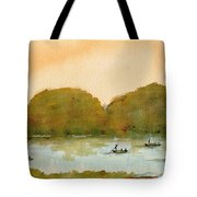Punting On The Cam Tote Bag