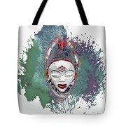 Punu Mask - Maiden Spirit Mukudji Tote Bag